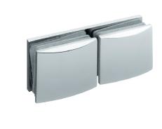 Крепление стекло-стекло 180°