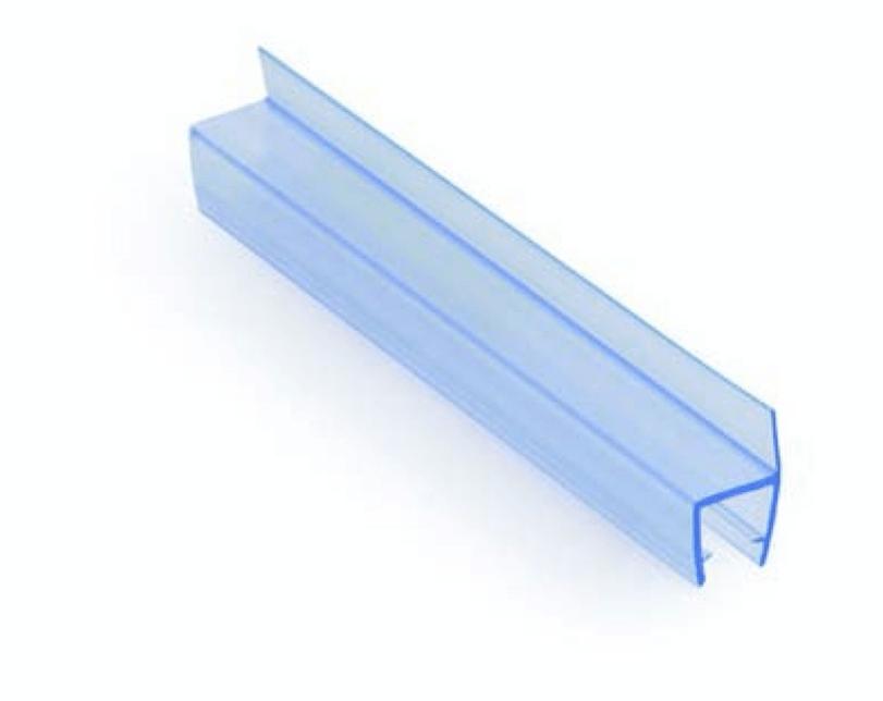 Уплотнитель стекло-стекло/пол/стена 180