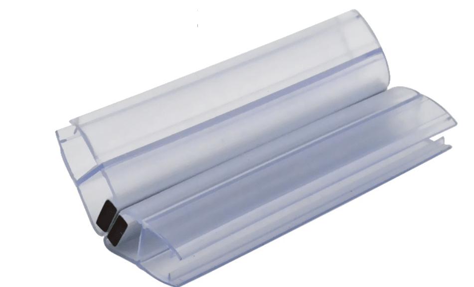 Магнитный уплотнитель стекло-стекло 135°