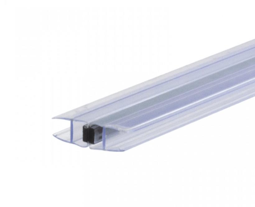 Магнитный уплотнитель стекло-стекло с возможностью открывания во внутрь и наружу