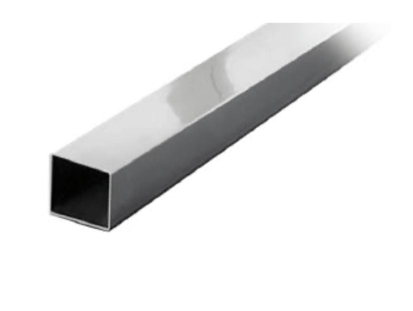 Штанга квадратная для душевой 15 х 15 мм